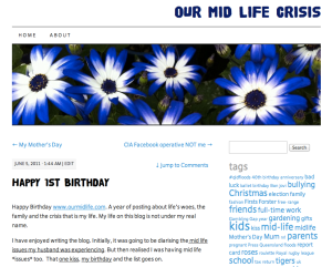 Happy Birthday Blog